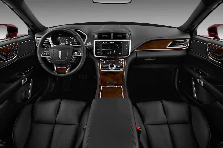 Lincoln Continental Premiere luxury sedan interior